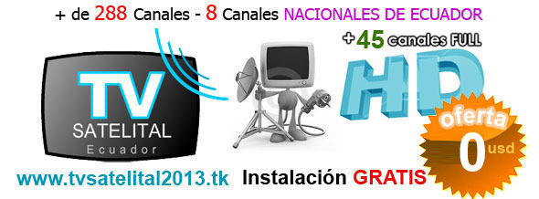 Tv Satelital Full HD en Quito Ecuador